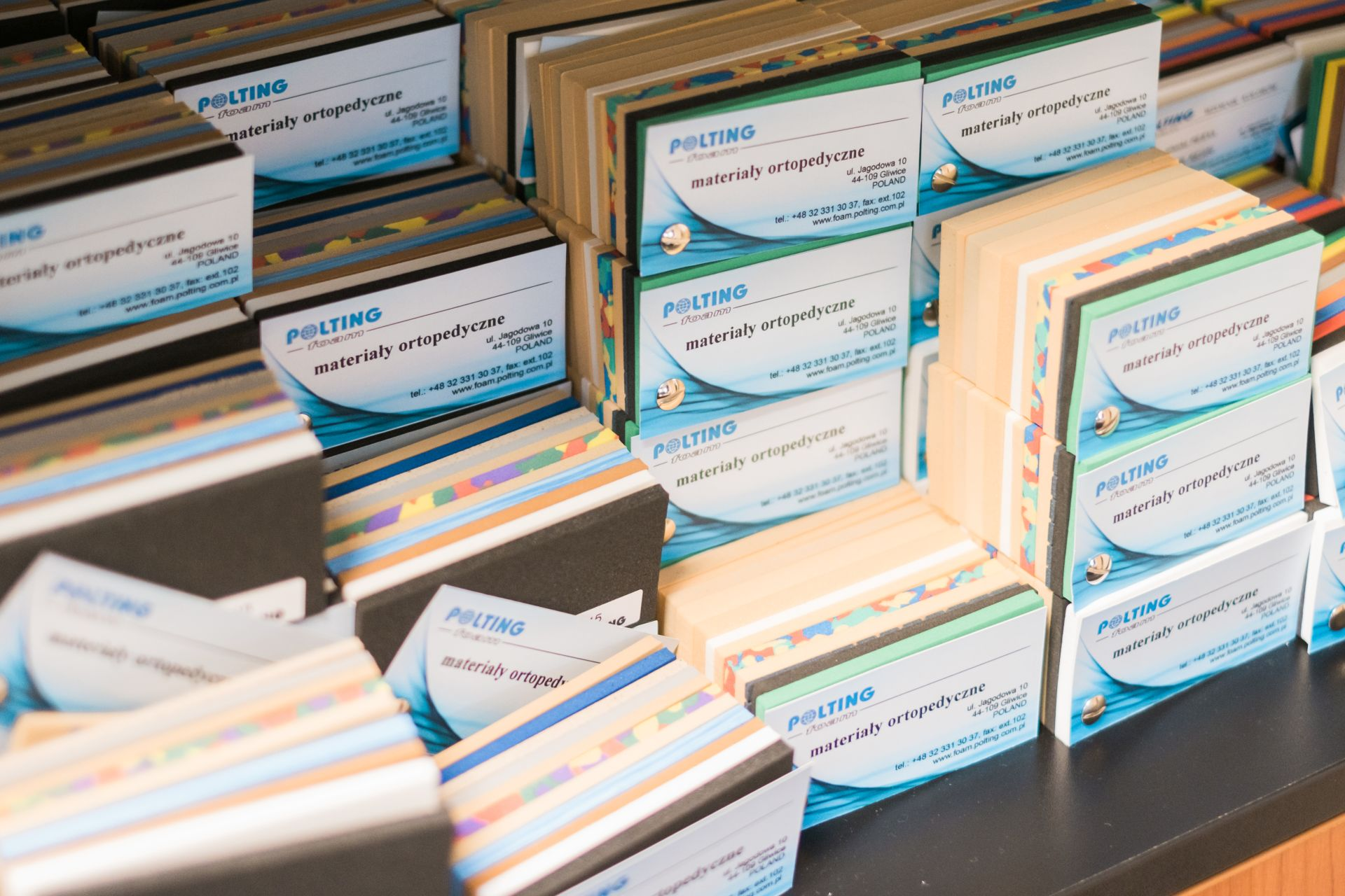 Katalog pianek ortopedycznych EVA