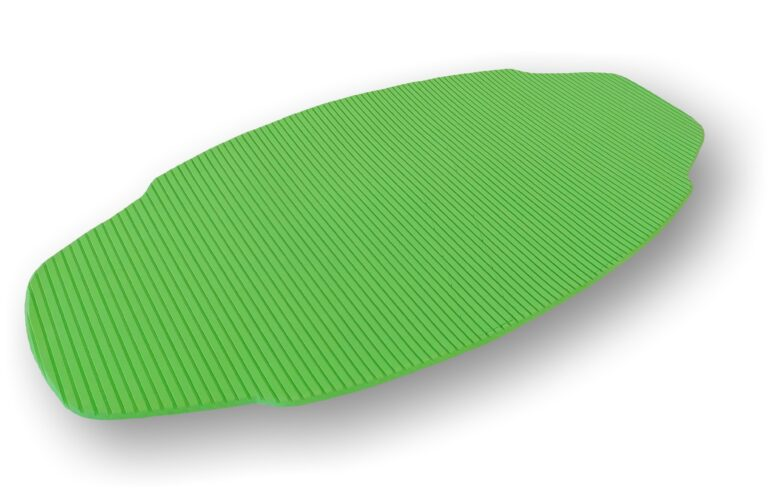 grooved pad